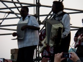 Buckwheat Zydeco at the Sunset Jazz Series on the Camden NJ waterfront
