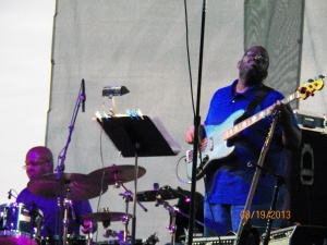 Lionel Cordew on drums with Ron jenkins on bass