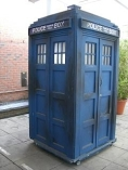 The TARDIS from series circa 1980, ©Zir.com