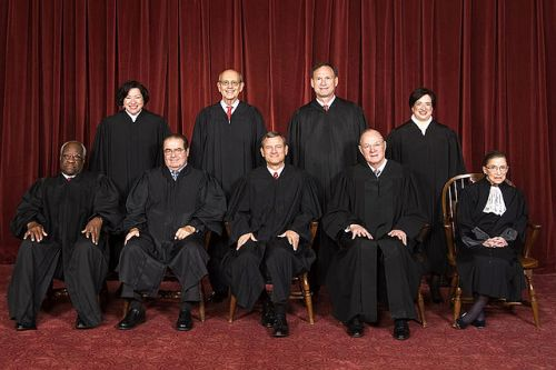 The Supreme Court Of the United States circa 2010