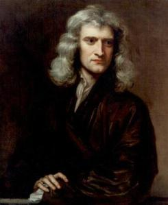 Sir Isaac Newton (1643-1727) by Sir Godfrey Knellar (1646-1723)