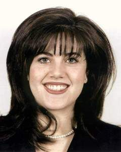 A Government employee photo ID of Monica Lewinsky