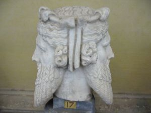 Roman god Janus symbolizes change and transition much like our overused technology.