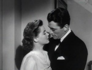 Dorothy McGuire and Gregory Peck in 1947's Gentleman's Agreement.  Spoiler Alert: McGuire's character had hinky issues.