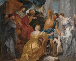 The Judgment of Solomon, 1617 - Peter Paul Rubens