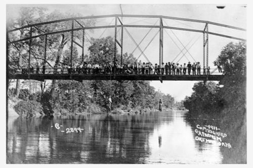 """""""Lynching of Laura Nelson and her son 2"""" by George H. Farnum, Okemah photographer"""