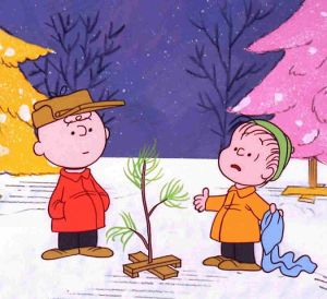 """Charlie Brown Xmas tree"" by Source (WP:NFCC#4)."